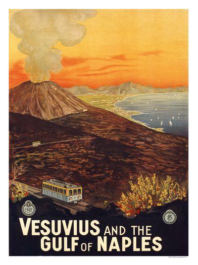 poster-vintage-campania-vesuvio